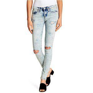 BlankNYC The Reade Distressed Skinny Jeans Sz 25